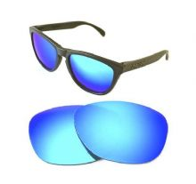 NEW POLARIZED CUSTOM ICE BLUE LENS FOR OAKLEY FROGSKINS SUNGLASSES
